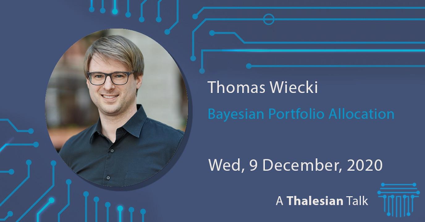 Thomas Wiecki: Bayesian Portfolio Allocation